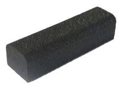 画像1: ゴム製縁石「mou」【黒】